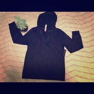 Juniors Black Hoodie